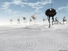 Patrolling Hoth
