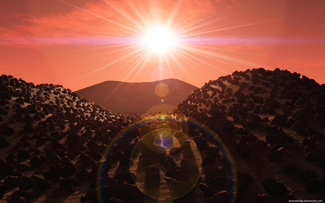 Mars Landscape by VickyM72