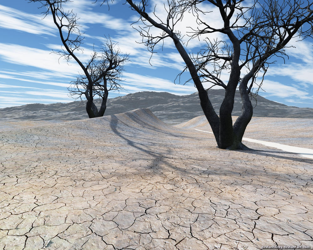 Dry Lake Bed by VickyM72