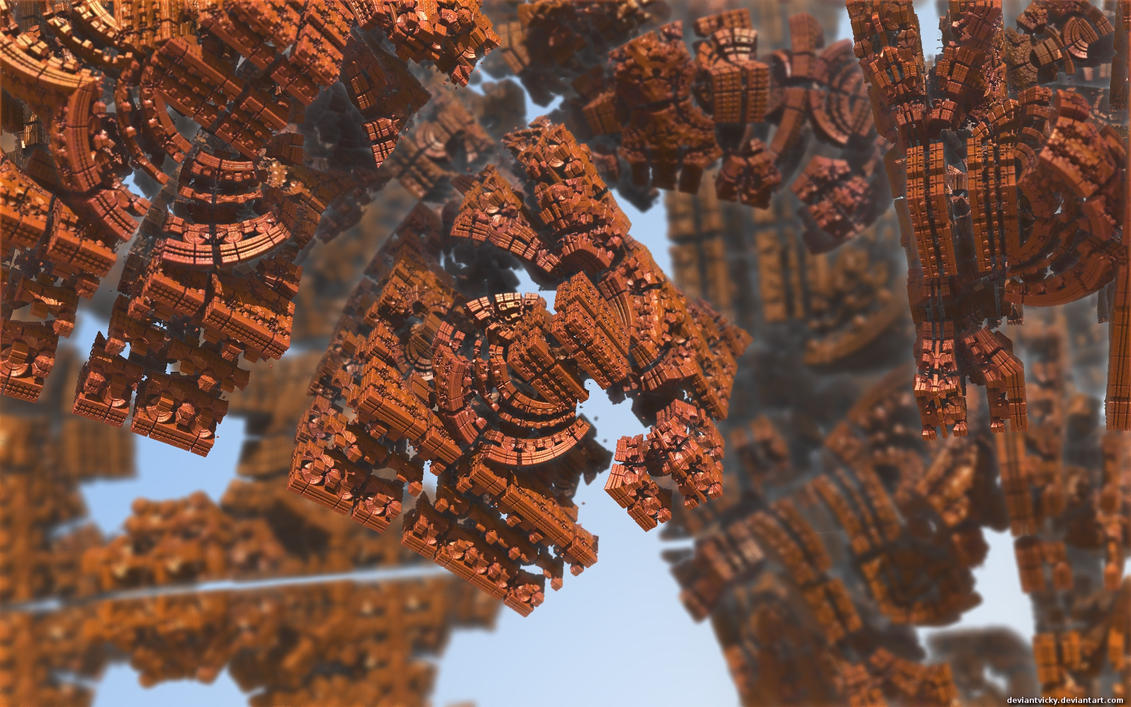 Mandelbulber DOF Wallpaper by VickyM72
