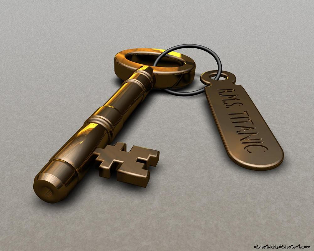 Titanic Stateroom Key by VickyM72