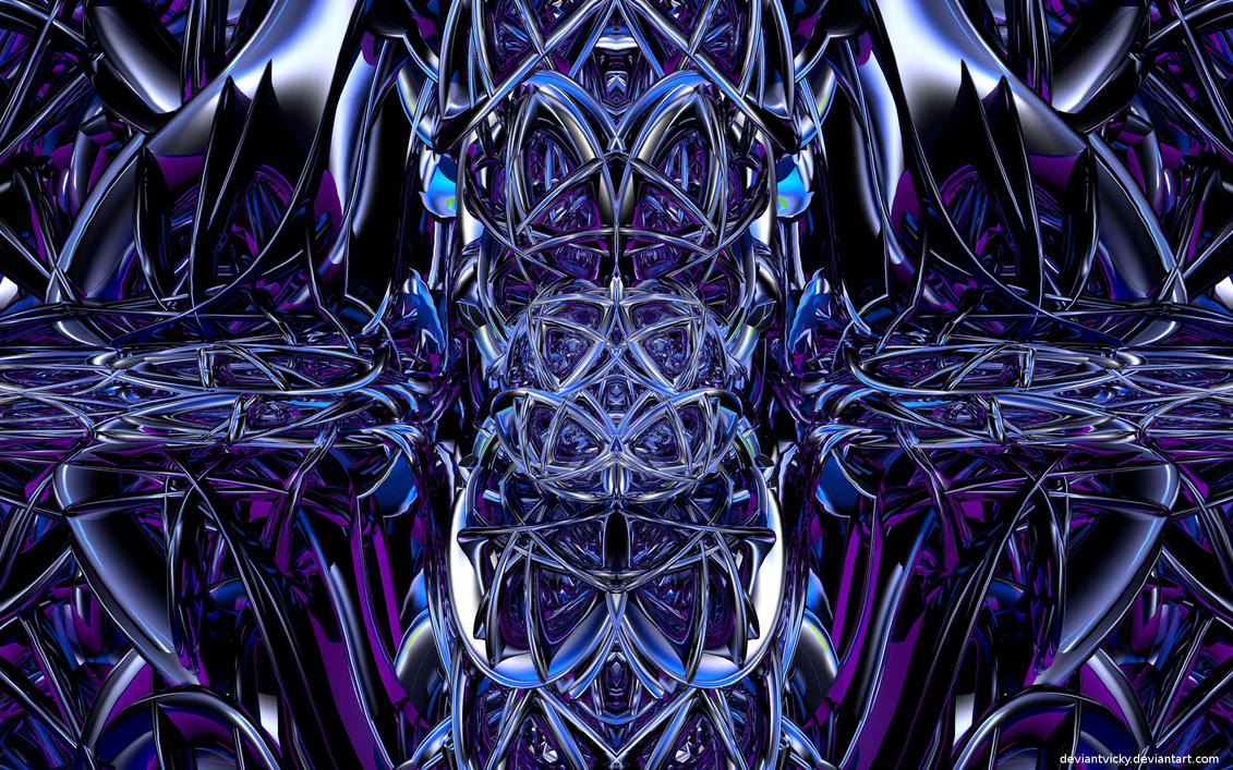Blender Symmetrical Abstract 2 by VickyM72