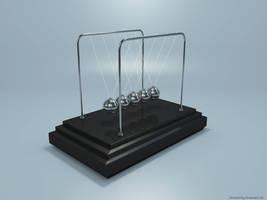 Newton's Cradle by VickyM72