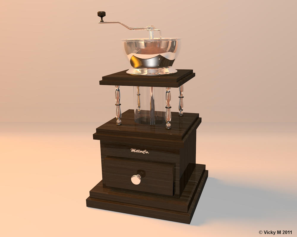 Coffee Grinder by VickyM72