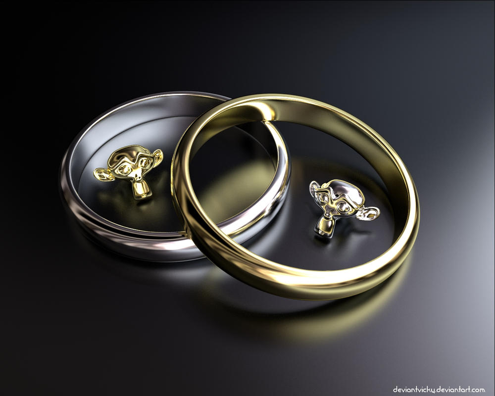 Monkeys and Rings by VickyM72