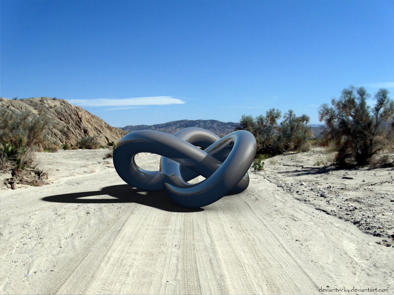 Lonely Torus Knot by VickyM72