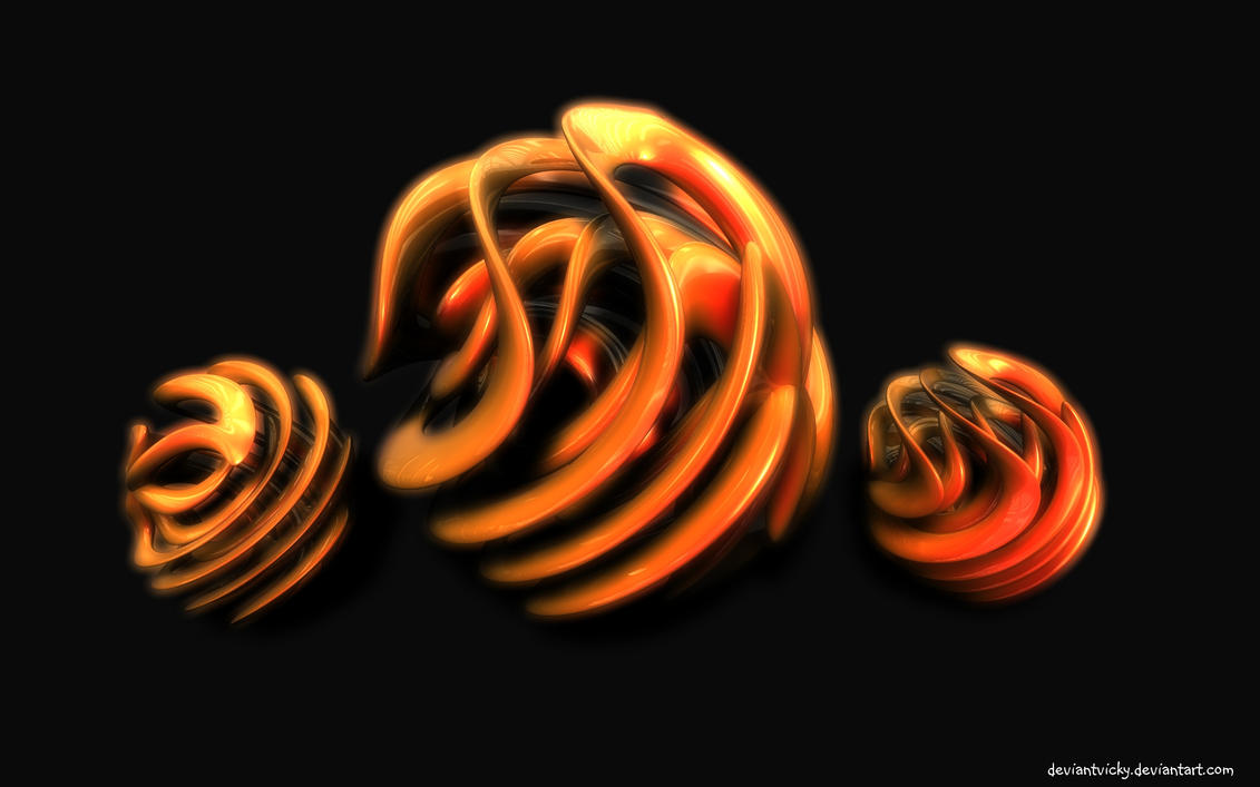 Orange Twist by VickyM72