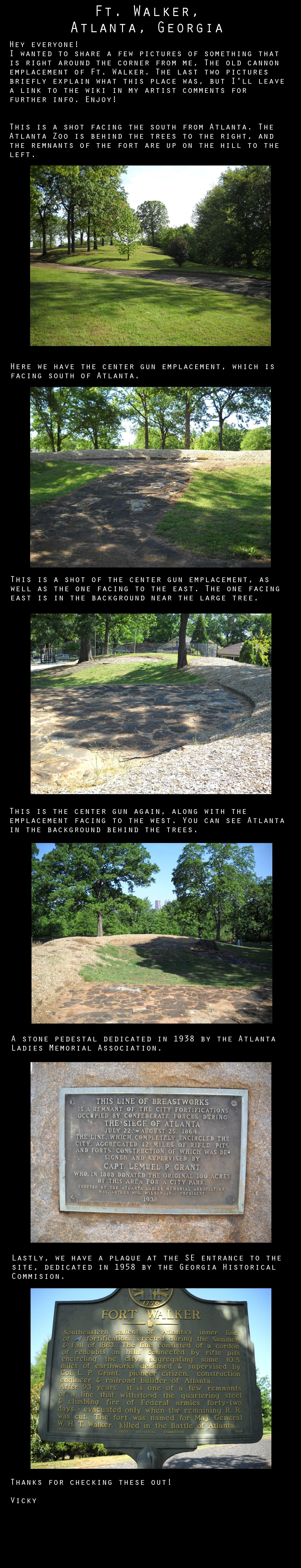 Ft. Walker, Atlanta, GA by VickyM72