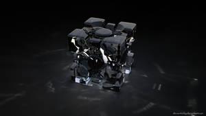 Glass Portal Cube
