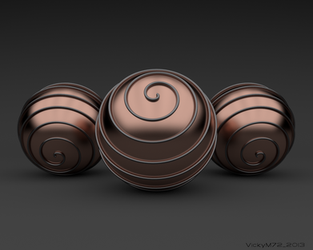 Cycles Spirals by VickyM72