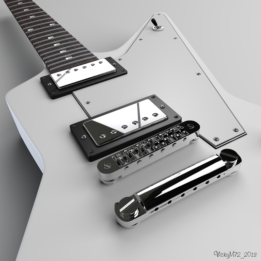 Gibson Explorer WIP #2 by VickyM72