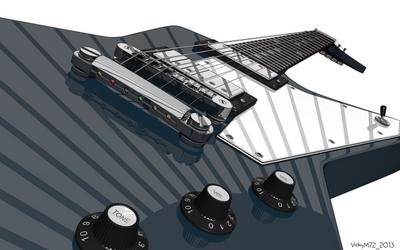Gibson Explorer - Stylized by VickyM72