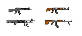 NATO guns vs Soviet guns by Flip-coB
