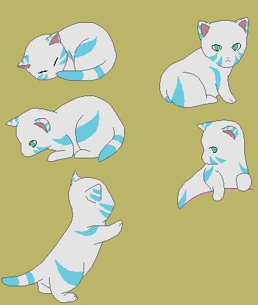 (OPEN) Kitten adopt 20pts by Nionai