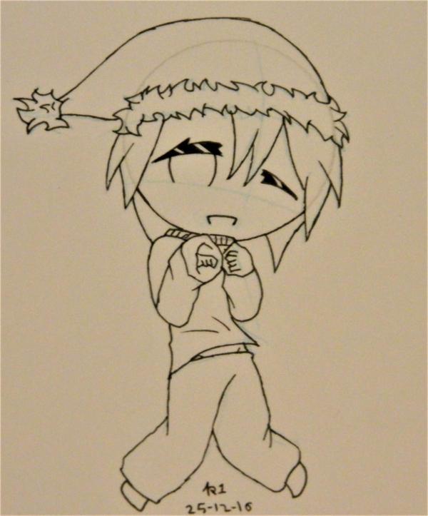 362: Christmas doodle by kirava1