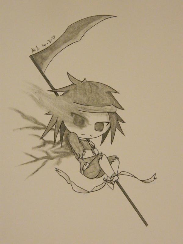 OC: Li'l Reaper by kirava1