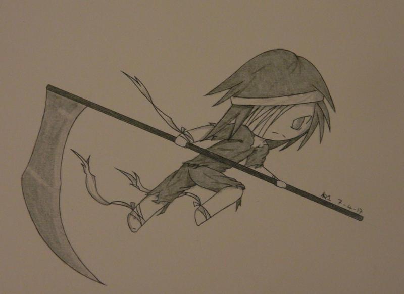 Lil Reaper OC by kirava1