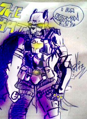 BATMAN - HEAVY ARMOR 1.0 by machomanz