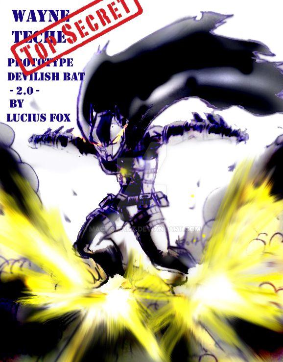 Devilish Bat by machomanz