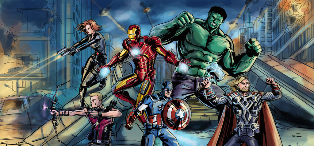 The Avengers By Sachalefebvre-d66387p by spotted