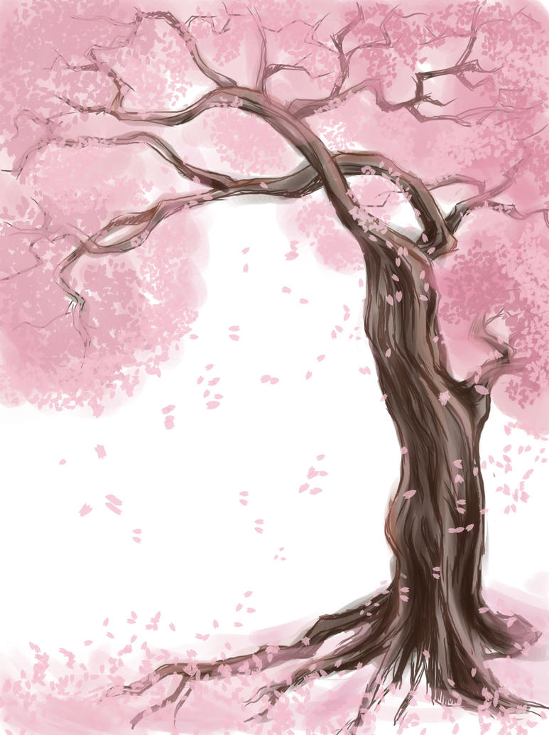 Sakura Tree By Scarlettestar On Deviantart
