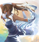 The super awesome Korra
