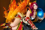Foxfire Ahri Cosplay