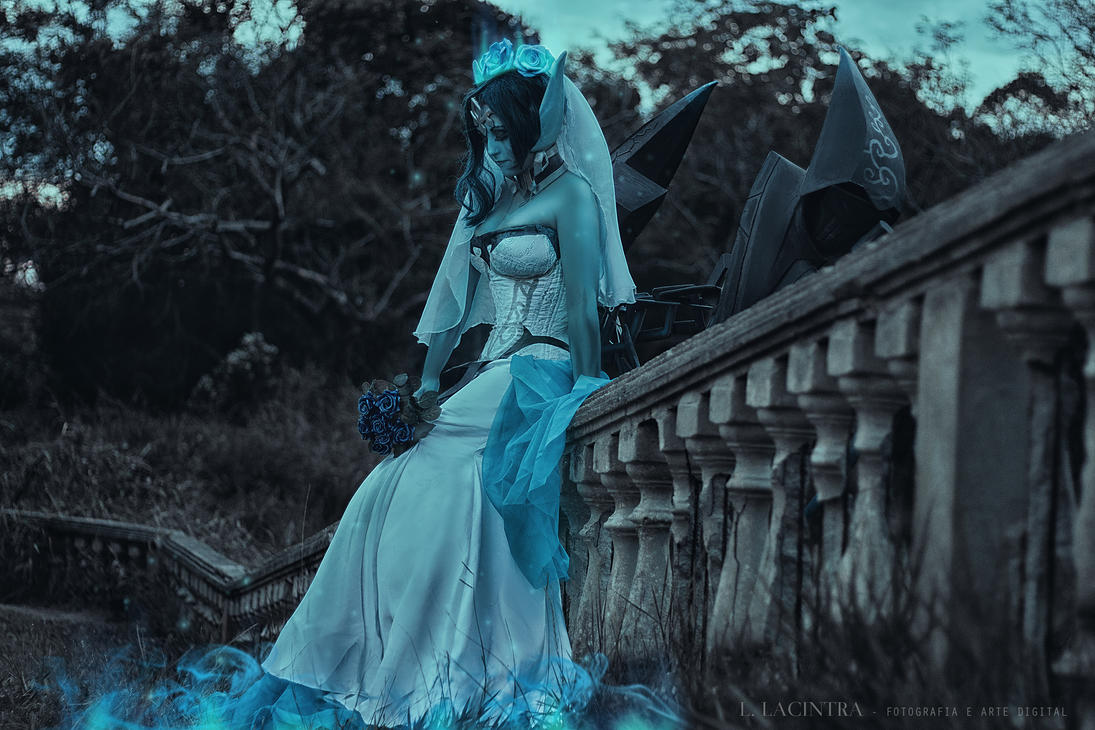 Morgana Ghoist Bride Cosplay by Kitsune-Raposa on DeviantArt