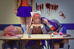 JUST MONIKA - DDLC Cosplay - doki doki literature by Kitsune-Raposa