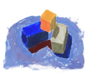 Block Study by RamandusDaughter