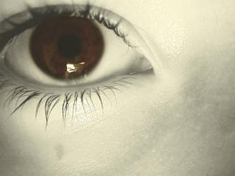 Coffee Eyes by RamandusDaughter