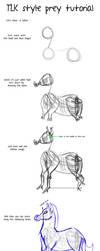 TUTORIAL: Drawing preys in tlk style(zebra) by Mydlasfanart