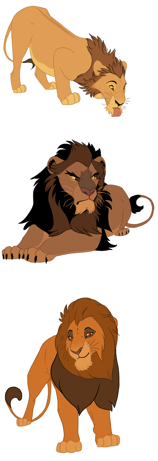 Lions concepts by Mydlasfanart