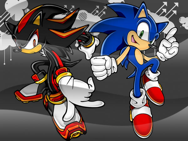 shadow wallpaper. sonic and shadow wallpaper by