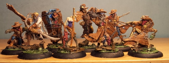 Malifaux Guild Lady Justice by Nickienogger
