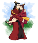 The Fire Prince and His Princess
