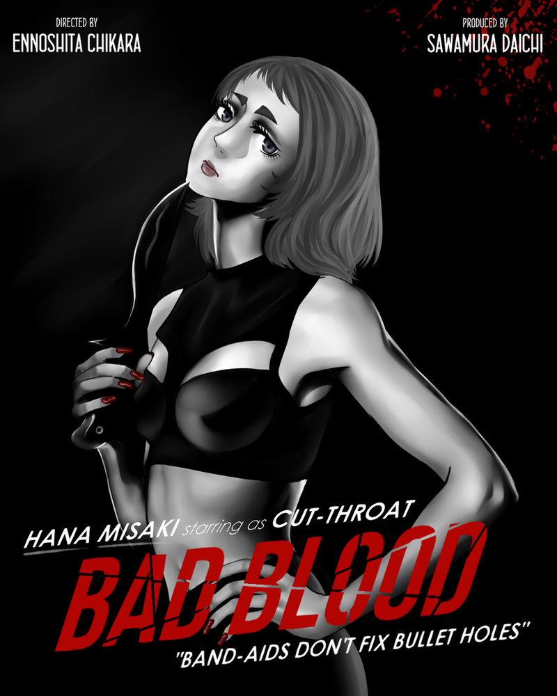 Bad Blood - Hana Misaki by Equestrian-Equine