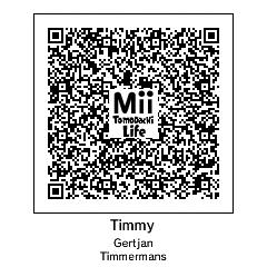 Tomodachi Life Mii QR Code by Hylian
