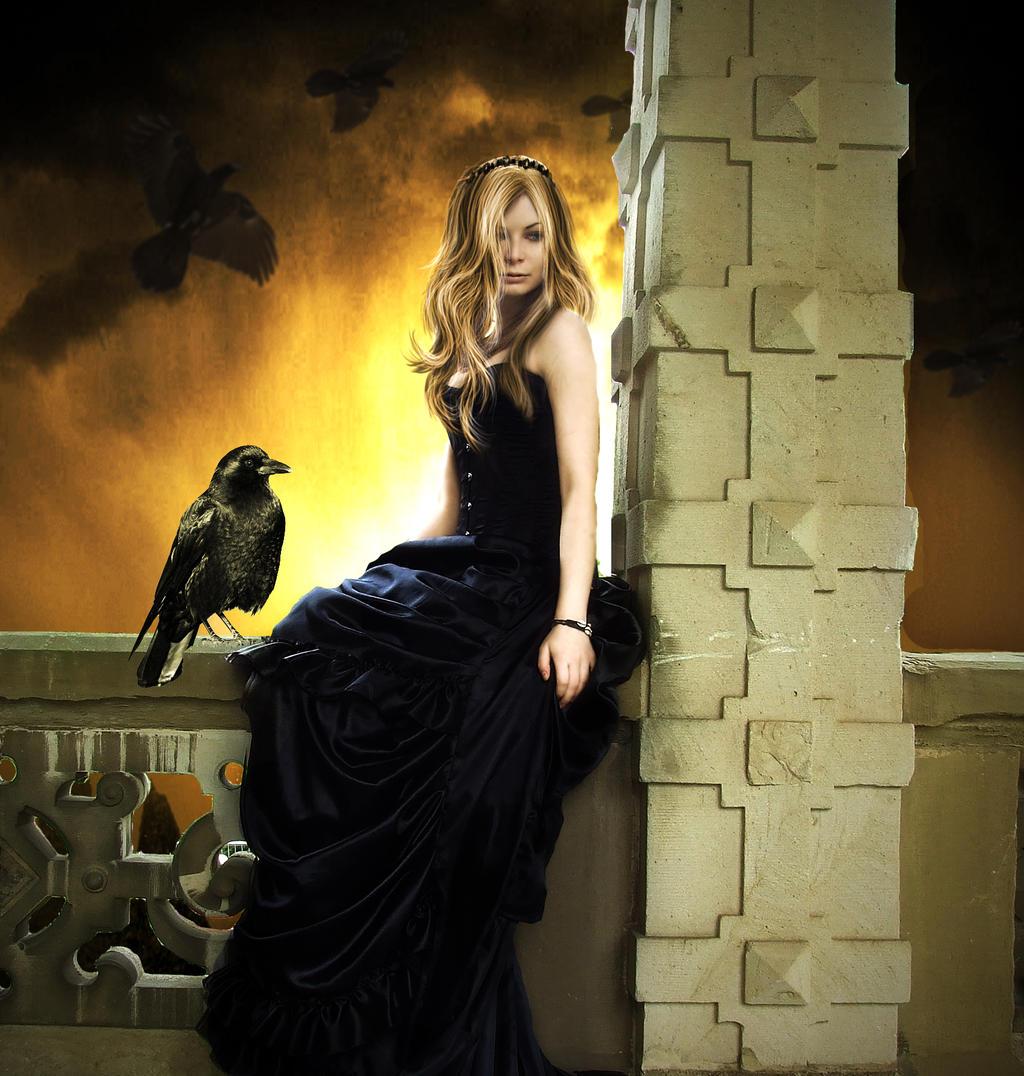 La reina de los cuervos / The Queen of Crows by TheAxelLove