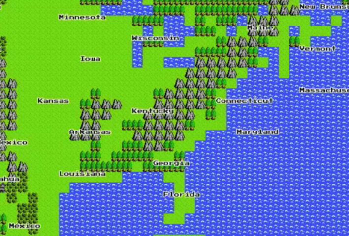 Google 8 bit maps lanuched