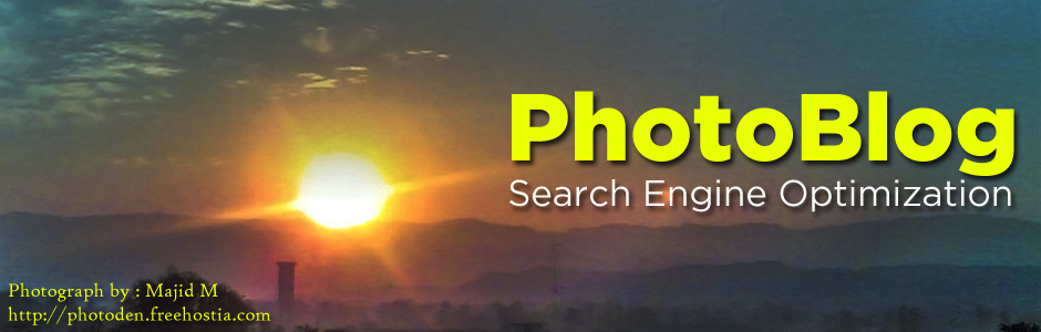 PhotoBlog Search Engine Optimization