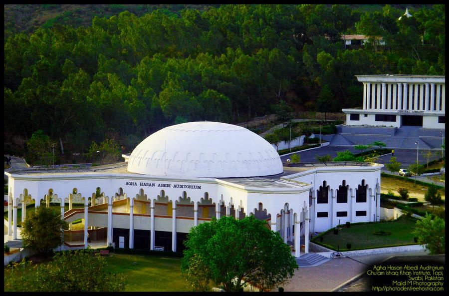Agha Hasan Abedi Auditorium , GIKI, Pakistan