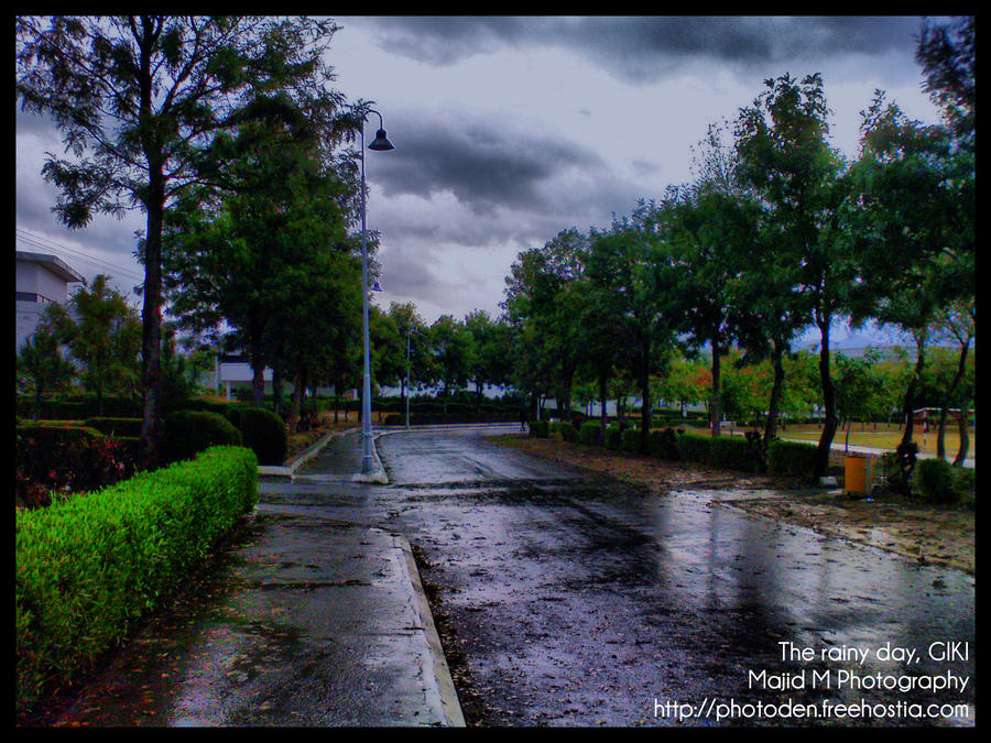 The rainy day, GIKI,