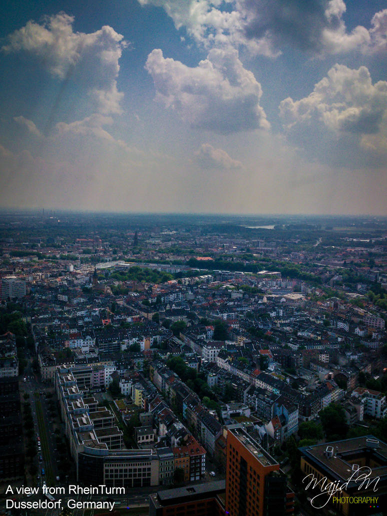 A view from RheinTurm by meanart