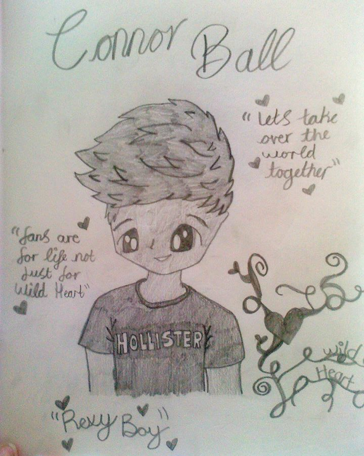 Connor Ball fanart by Bubblegumartt