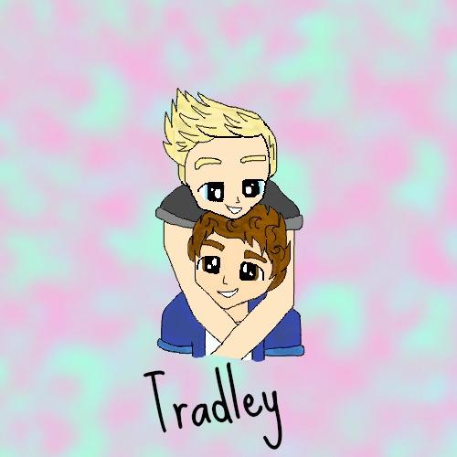 Tradley Fanart by Bubblegumartt