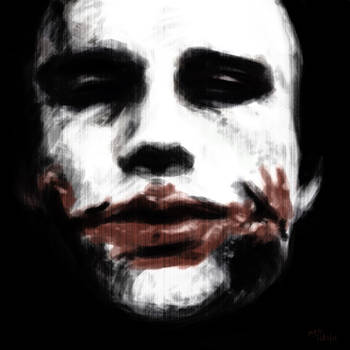 Heath Ledger - Joker by mrc