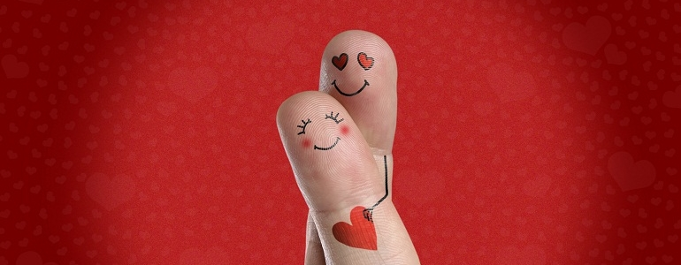 Valentin day's Love finger by LorettaDesing789
