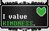 Undertale || Human Soul Stamp KINDNESS || F2U by The-NoiseMaker