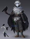 DnD || Rorschach the Moon Elf Druid